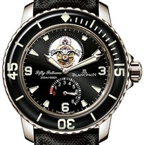 Blancpain Fifty Fathoms Tourbillon 8 Days 5025-1530-52a