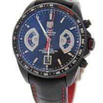 TAG Heuer Grand Carrera Cal 17 Chronograph Black Titanium