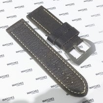 Panerai Dark Brown Leather Strap with Buckle (Used)