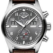 IWC Schaffhausen IW379108 Pilot's Watch Perpetual Calendar...