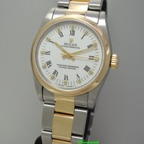 Rolex Oyster Perpetual Medium 67483 -Stahl-Gold, Box+Papiere+S...