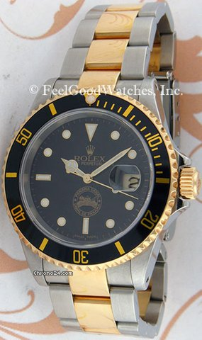 Rolex 16613 Submariner, Limited Edition Panama Canal, Steel &amp;amp; Ye