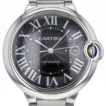 Cartier Ballon Bleu Stainless Steel Automatic Black Dial...
