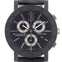 Bulgari Carbongold Chronograph Roma 1884 ref. BB 38 CL CH