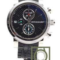 Graham Mercedes GP Trackmaster carbon dial chronograph NEW