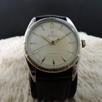 Rolex Oyster Perpetual 6299 2-tone Big Bubbleback Stainless...