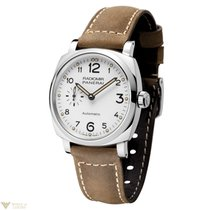 Panerai Radiomir 1940 3 Days Acciaio Stainless Steel Leather...