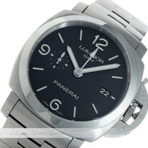 Panerai Luminor 1950 GMT 3 Days Stahl PAM00329