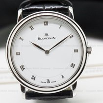 Blancpain 0021-1127-55 Villeret Ultra Slim SS White Dial...