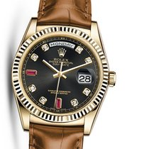Rolex 118138 Perpetual Day-Date 18K Yellow Gold Unisex Watch