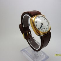 Ingersoll 1930s Vintage Gold Filled INGERSOLL Elite 15 Jewel...
