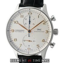 IWC Portuguese Collection Chronograph Stainless Steel SIlver...