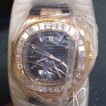 Patek Philippe 5980/10R-010 Nautilus Rose Gold & Diamond...