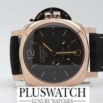 Panerai Luminor 1950 8 Days GMT Oro Rosso PAM00576 PAM576 576 T