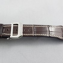 IWC Pilot's series leather strap with deployment clasp 21 mm