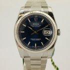 Rolex Datejust mit Box & Papieren 116234 + Verklebt