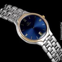 """Omega De Ville """"Symbol"""" Mens Quartz Blue Dial Dress Watch"""