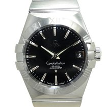 Omega Constellation Stainless Steel Black Automatic 123.10.38....