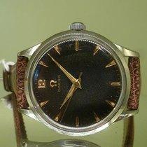 Omega vintage 1952 seamaster rare gilt dial with orig plexi...