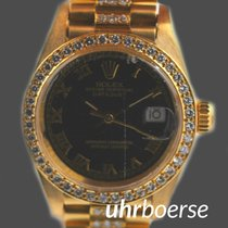 Rolex Oyster Perpetual Lady Datejust Gelbgold 18kt um 1986