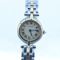Cartier Panthere Ronde Vendome Quartz Damen Uhr 22mm Stahl/18k...