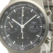 IWC Gst Chronograph Titanium Automatic Mens Watch 3707...