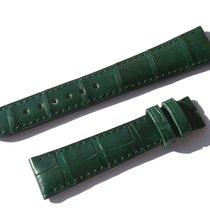 Chopard Croco Band Strap Green 17 Mm 70/105 New C17-03 -70%