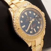 Rolex Yacht-master 169628 Oyster Perpetual 18k Yellow Gold...