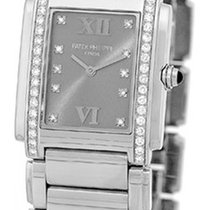 "Patek Philippe Lady's Stainless Steel  ""Twenty-4""."
