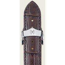 Hirsch Lord Uhrenarmband braun L 04528010-1-18 18mm mit...