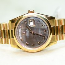 Rolex Day Date President 18k Everose Rose Gold 118205 MOP Dial...