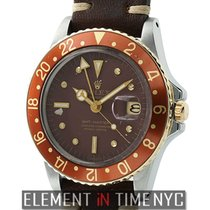 Rolex GMT-Master Steel & Yellow Gold Root Beer Nipple Dial...