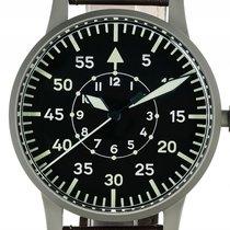 Laco große Fliegeruhr Replika Typ B Stahl Handaufzug Armband...