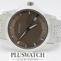 Gucci G-Timeless Brown Gucci Dial YA126406 GA