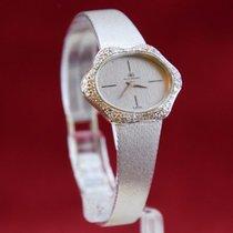 Carl F. Bucherer 0,750 Weiß Gold Diamanten Handaufzug Neuwertig