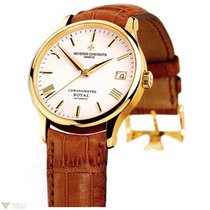 Vacheron Constantin Patrimony Chronometer Royal 18K Gold Men`s...