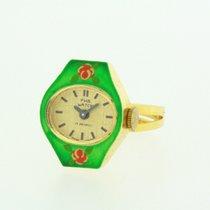 F.H B. very nice Swiss Made Ring Watch running Cal. Rendex...