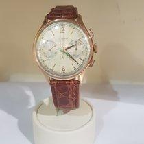 Zenith chrono manual  vintage gold  - cal.  156D