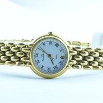 Maurice Lacroix Damen Uhr 25mm Stahl Vergoldet Quartz Rar...