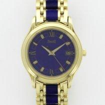 Piaget Yellow Gold Lapis Lazuli Polo Bracelet Watch