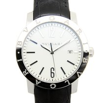Bulgari New - Stainless Steel White Automatic BB41WSLD