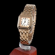 Cartier panthere yellow gold quartz lady