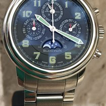 Blancpain Leman Perpetual Calendar Chronograph Flyback