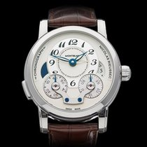 Montblanc Nicolas Rieussec Chronograph GMT Stainless Steel...