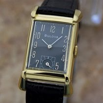 Bulova Vintage 1940s 10k Gold Filled Collector Manual Swiss...