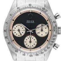 Rolex Daytona Paul Newman Stahl Handaufzug Chronograph Armband...