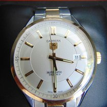 TAG Heuer CARRERA 18K/ STEEL White Dial 39mm