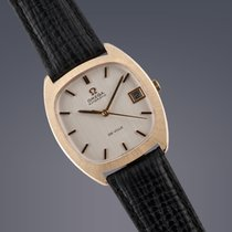 Omega De Ville 9ct yellow gold automatic watch
