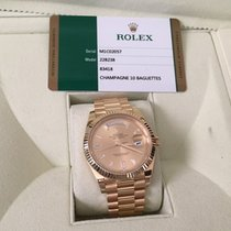 Rolex 40mm Day-date President 18k Gold 228238 Champagne...