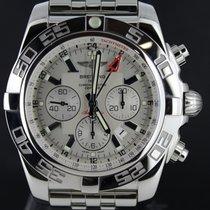 Breitling Chronomat GMT Steel 47MM White Dial, Full Set